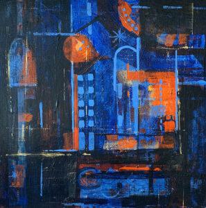 Contemplation III - Stephanie Thompson Art