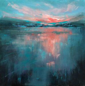 Evening Reflection - Stephanie Thompson Art