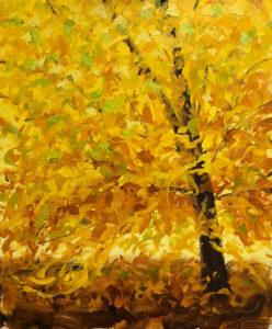 Golden Yellow - Stephanie Thompson Art
