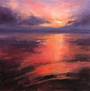 Setting Sun, Mauritius - Stephanie Thompson Art